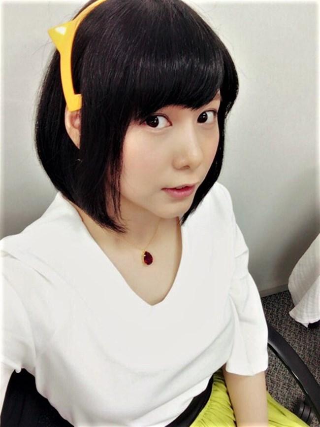 津田美波~超可愛い声優の網タイツ姿にドキリ!こんな美形だったらテレビ出てよ!0008shikogin