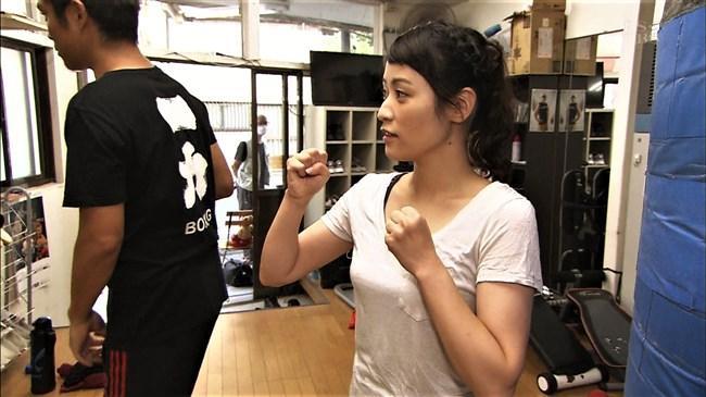 万波奈穂3段~囲碁界のアイドルがピタピタの薄着でトレーニングしていたぞ!0002shikogin