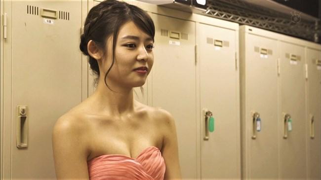 古畑星夏~ラブホの上野さんでの胸の谷間を出したキャバ嬢の姿がエロかわ!0013shikogin