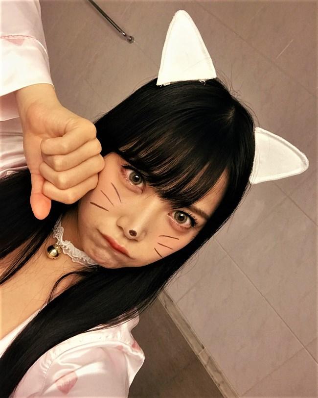 白間美瑠[NMB48]~みるるんの胸の谷間を出したコスプレ姿がAVっぽくて即ヌキした!0007shikogin