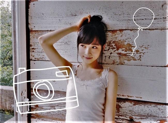 小栗有以[AKB48]~漫画アクションのグラビアで初ソロ!可愛くて太ももが悩ましい!0003shikogin
