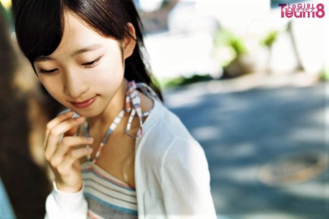 小栗有以[AKB48]~漫画アクションのグラビアで初ソロ!可愛くて太ももが悩ましい!0005shikogin