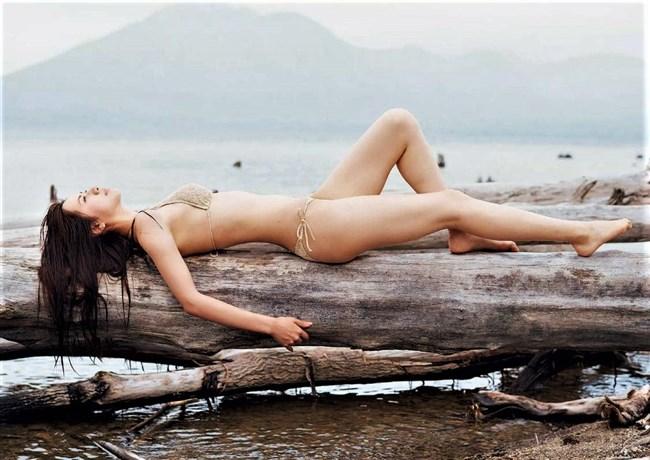 大伴理奈~週プレの水着グラビアはやっぱり美しくて完璧なボディー!0003shikogin