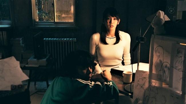 吉岡里帆~世にも奇妙な物語でのニット服でのオッパイ盛り上がりが凄かった!0008shikogin