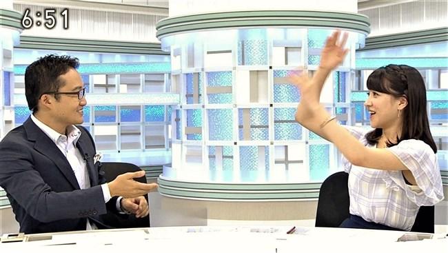 赤木野々花~NHKニュースおはよう日本での巨乳な姿とブラチラは超ドキドキ!0003shikogin