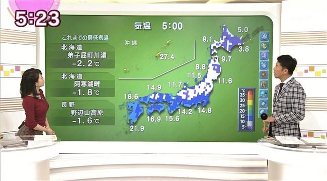 赤木野々花~NHKニュースおはよう日本での巨乳な姿とブラチラは超ドキドキ!0007shikogin