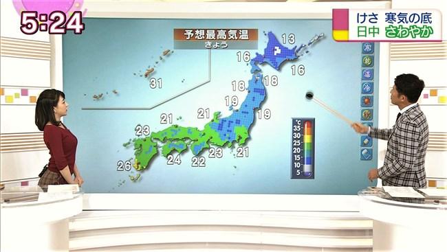 赤木野々花~NHKニュースおはよう日本での巨乳な姿とブラチラは超ドキドキ!0008shikogin