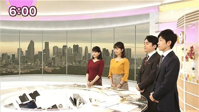 赤木野々花~NHKニュースおはよう日本での巨乳な姿とブラチラは超ドキドキ!0009shikogin