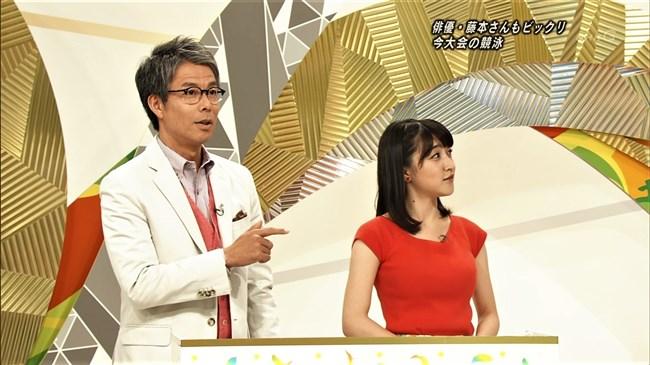 赤木野々花~NHKニュースおはよう日本での巨乳な姿とブラチラは超ドキドキ!0010shikogin