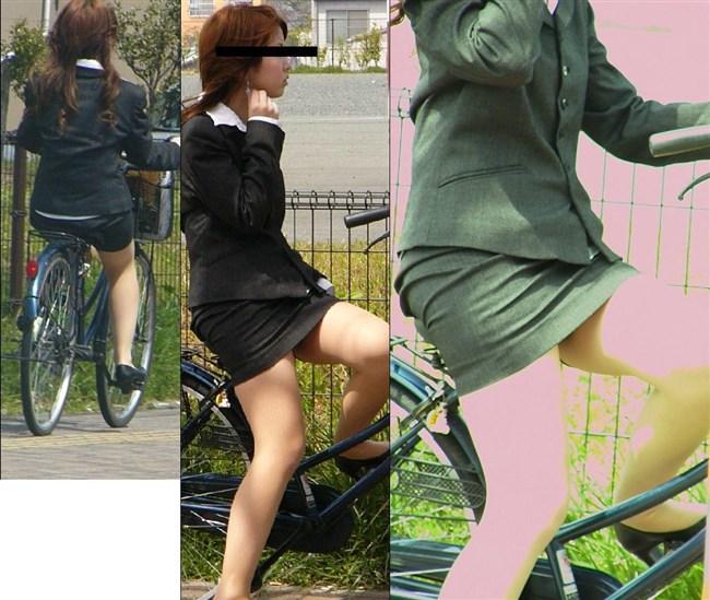 自転車をミニスカで乗られるとスカートの中が気になって仕方ないんだがwww0015shikogin