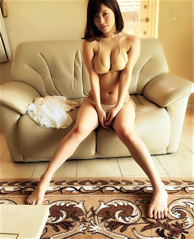 橘花凛~FLASHグラビアは水着姿と下着姿でHカップを妖艶に魅せている!0009shikogin