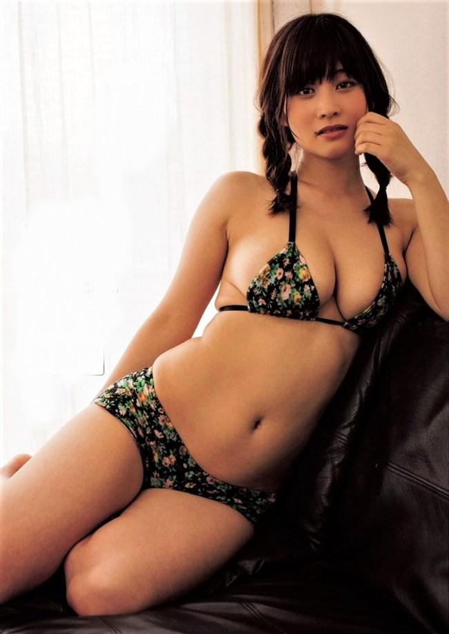 橘花凛~FLASHグラビアは水着姿と下着姿でHカップを妖艶に魅せている!0011shikogin