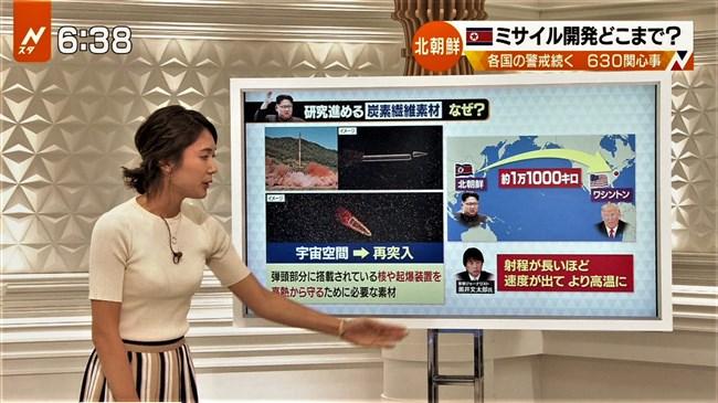 小林由未子~エロい胸の膨らみと放送事故級のバナナ疑似フェラが凄過ぎ!0011shikogin