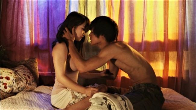 川栄李奈~ドラマでの濡れ場が凄まじい!ディープキスやベッドで抱かれまくり!0012shikogin