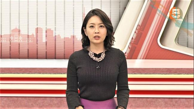 矢島悠子~スーパーJチャンネルでの胸の膨らみが半端無い!前より大きくなった?0002shikogin