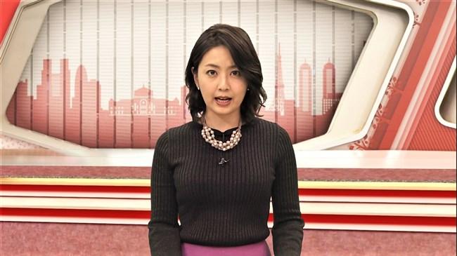 矢島悠子~スーパーJチャンネルでの胸の膨らみが半端無い!前より大きくなった?0005shikogin