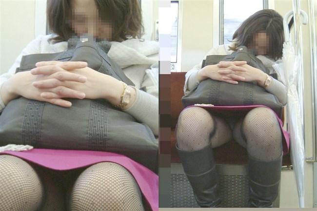 電車内でミニスカ女性が座った時の目のやり場wwwwww0011shikogin