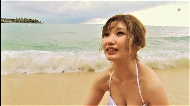 内田彩~エロいチューブトップブラの水着姿にムラムラ!妖艶過ぎじゃね?0007shikogin