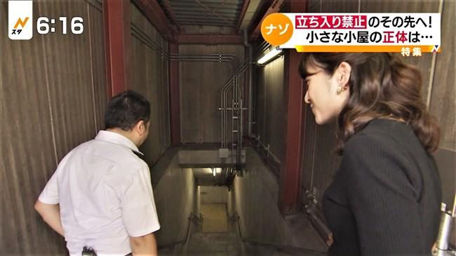 日比麻音子~Nスタ地下鉄レポートで見せたパン線クッキリの見事なヒップ!0007shikogin