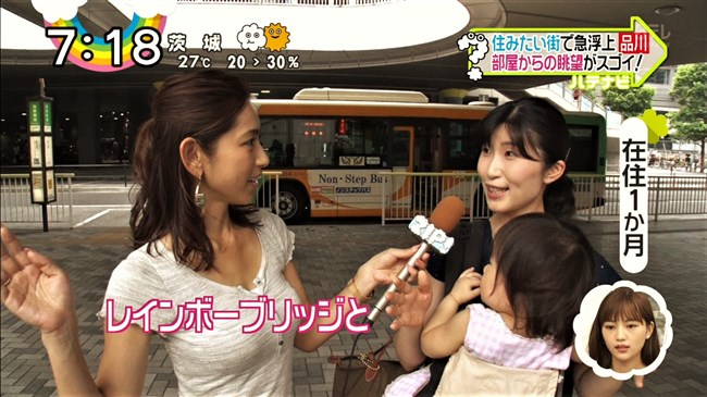 宮崎瑠依~暑い時期は巨乳キャスターの薄着の胸元が最高の癒しになるのだ!0005shikogin