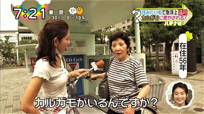 宮崎瑠依~暑い時期は巨乳キャスターの薄着の胸元が最高の癒しになるのだ!0010shikogin