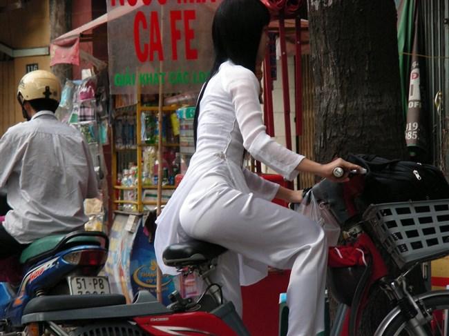 ベトナムのアオザイが透けまくっててえちえちwwwwww0020shikogin