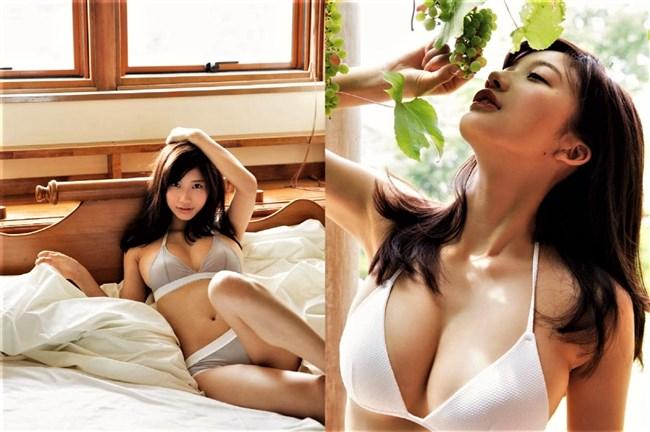 小倉優香~FRIDAY誌の14ページにわたる水着エログラビアは困った時のオカズ!0010shikogin