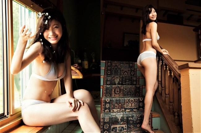 小倉優香~FRIDAY誌の14ページにわたる水着エログラビアは困った時のオカズ!0011shikogin