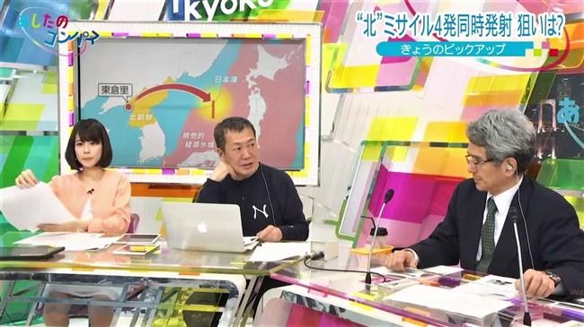 鈴木唯~北朝鮮ミサイル発射ニュースで開脚しまくりで俺も白ミサイル発射!0008shikogin