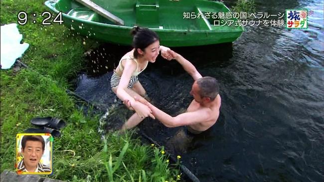 吉倉あおい~旅サラダでの水着姿でのサウナシーンは巨乳丸出しで極エロ!0003shikogin