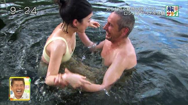 吉倉あおい~旅サラダでの水着姿でのサウナシーンは巨乳丸出しで極エロ!0005shikogin