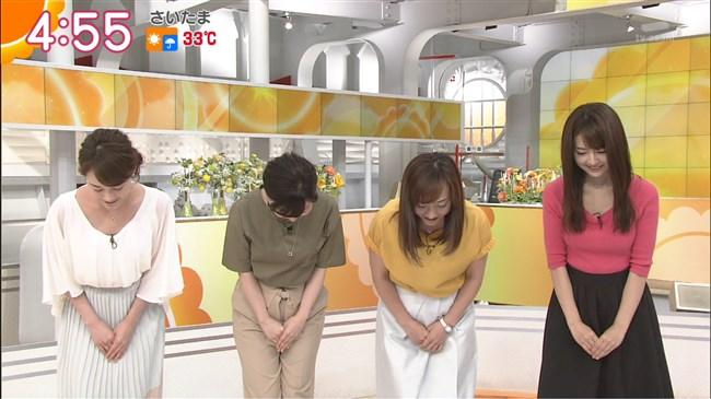 福田成美~テレ朝グッド!モーニングでのニット服の胸の膨らみが朝からエロ過ぎ!0004shikogin
