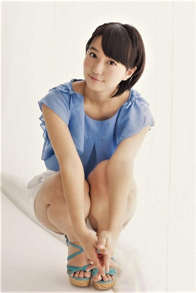清水麻璃亜[AKB48]~短パンの隙間からマン毛が!アイドルとしてはヤバ過ぎだわコレは!0010shikogin