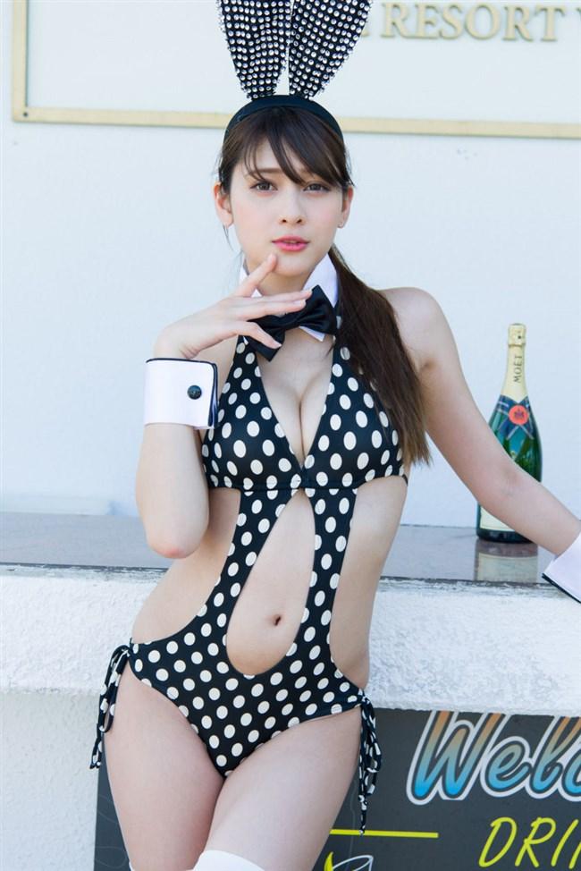 アンジェラ芽衣~Gカップのハーフ美女、週プレの水着グラビアがエロ過ぎる!0002shikogin