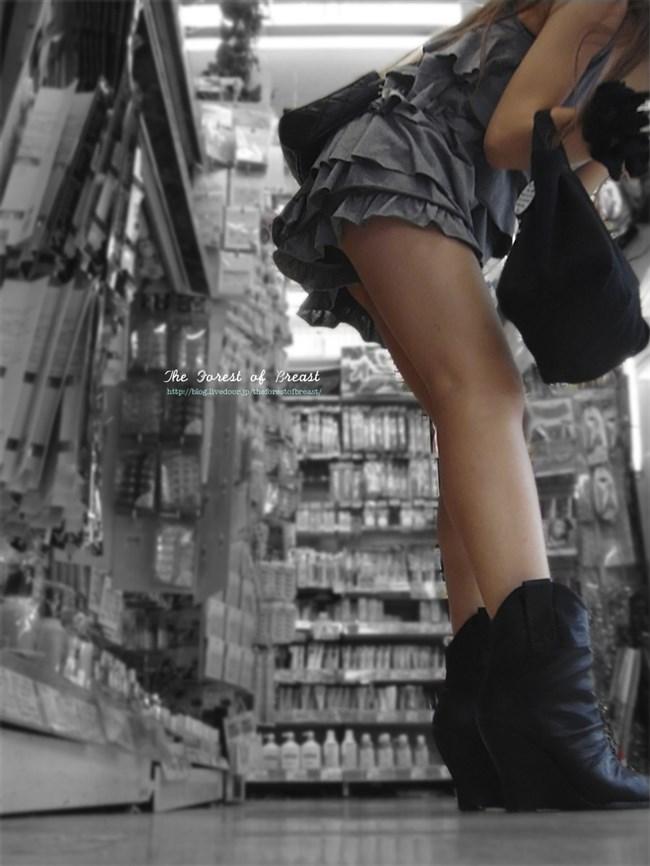 生足晒したショートパンツお姉さんの下半身がえちえちwwww0003shikogin