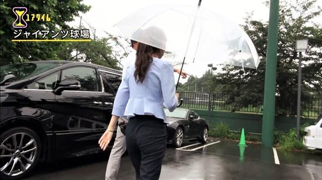 久慈暁子~ユアタイムでの意外とムッチリしたヒップがセクシーで興奮!0004shikogin