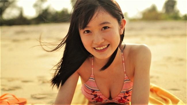 森戸知沙希[モーニング娘。]~初映像作品の水着姿が可愛くてエロ過ぎると話題になってます!0003shikogin