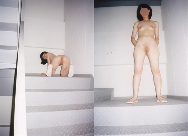 非常階段で露出調教している現場がこちらwwww0014shikogin