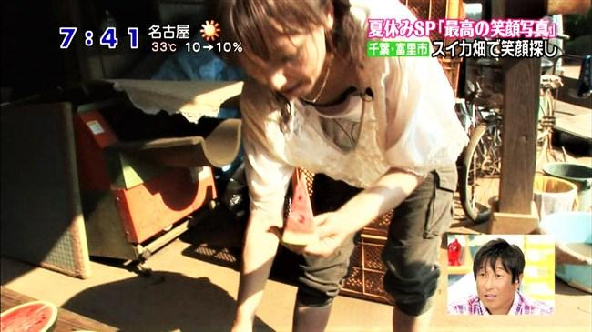 望月理恵~ズムサタの乳首見えそうなブラチラと超エロかった尻トレーニング!0003shikogin
