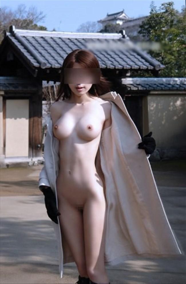 露出狂全裸コートのまんさんと遭遇するとこうなるwwww0002shikogin