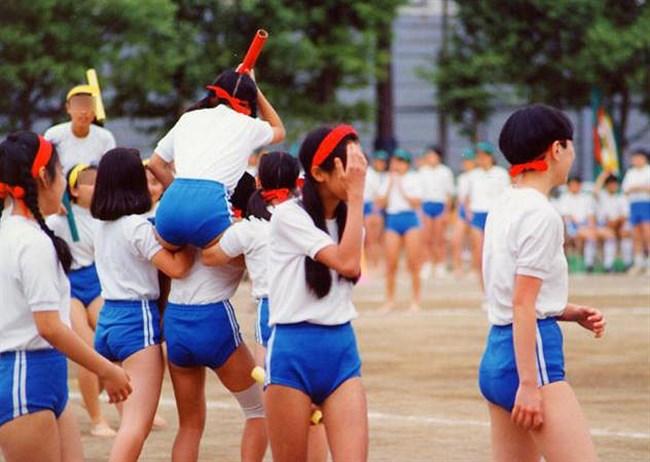 昭和の体操着ブルマの視覚的破壊力は計り知れないwwww0021shikogin