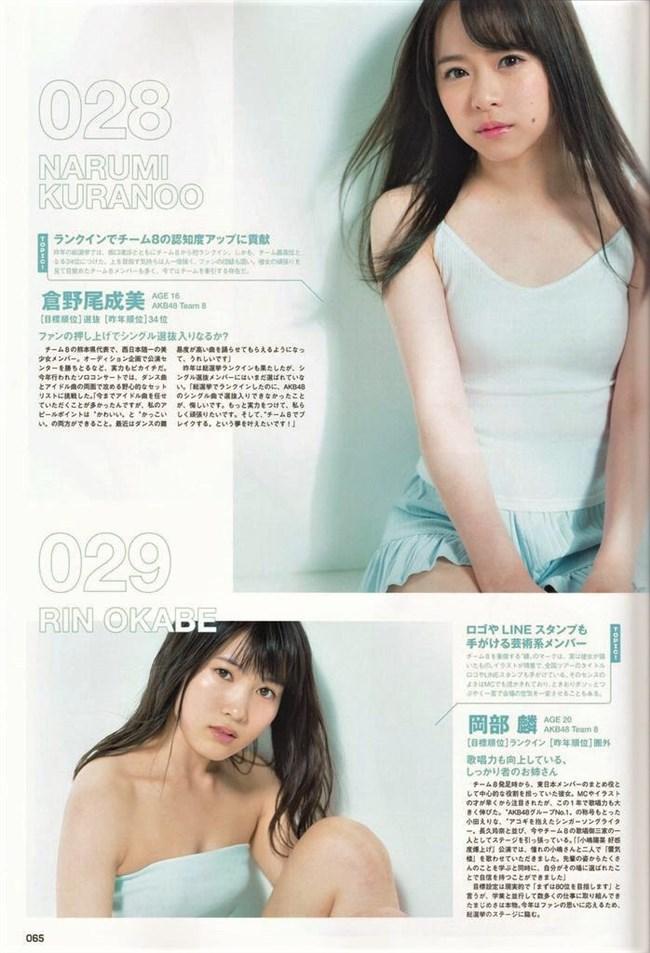 倉野尾成美[AKB48]~ヤンジャングラビアではムッチリした身体を見せて興奮!0011shikogin