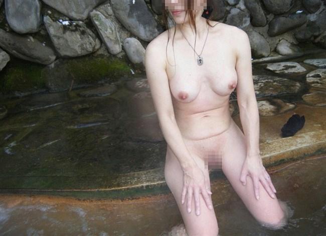 変態露出狂娘が混浴露天風呂に入るとこうなるwwww0022shikogin