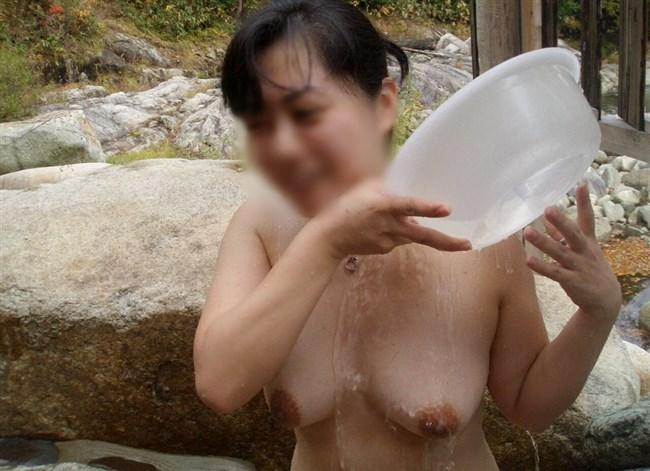 変態露出狂娘が混浴露天風呂に入るとこうなるwwww0008shikogin
