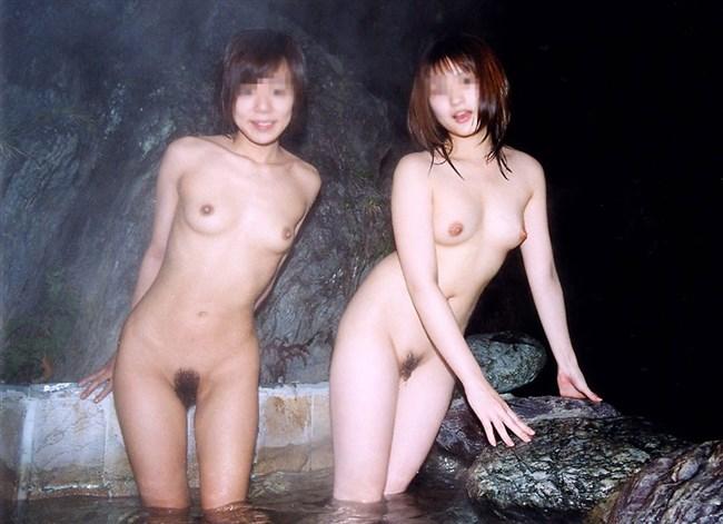 変態露出狂娘が混浴露天風呂に入るとこうなるwwww0021shikogin