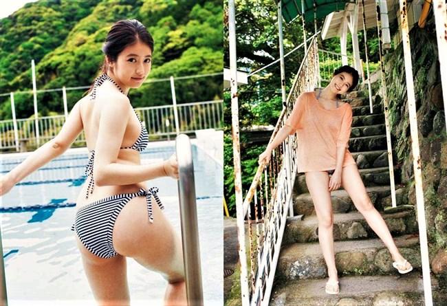 今田美桜~週プレの初であり水着グラビアはセクシー過ぎて倒れそう!0003shikogin