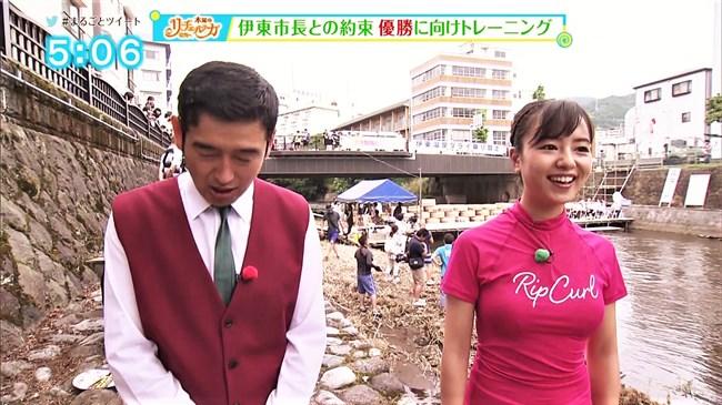 山田桃子~静岡のアイドルアナ、ウェットスーツで巨乳な姿が超エロい!0002shikogin