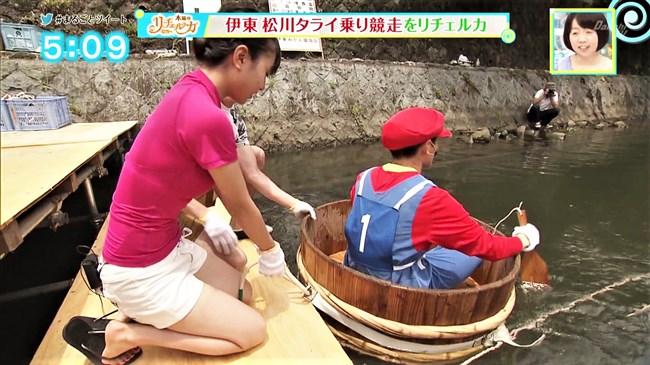 山田桃子~静岡のアイドルアナ、ウェットスーツで巨乳な姿が超エロい!0008shikogin