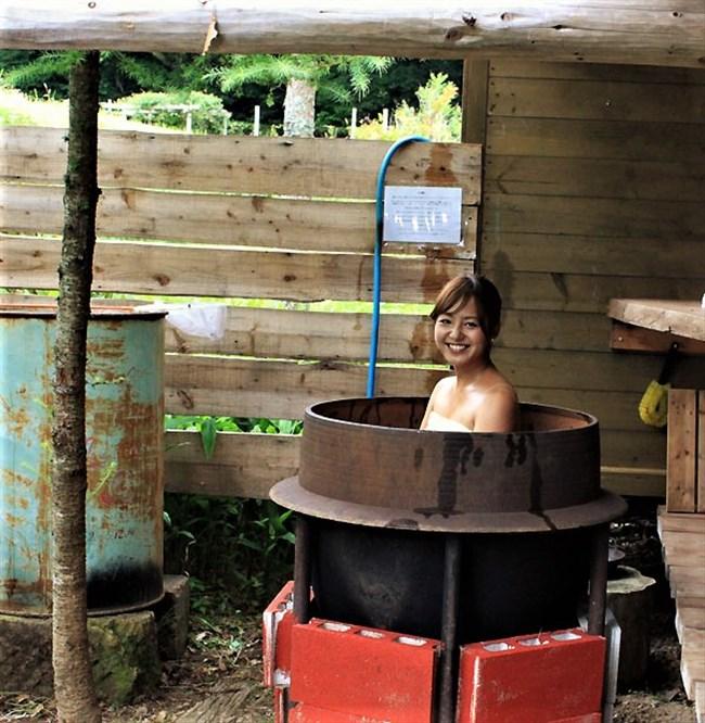 山田桃子~静岡のアイドルアナ、ウェットスーツで巨乳な姿が超エロい!0012shikogin