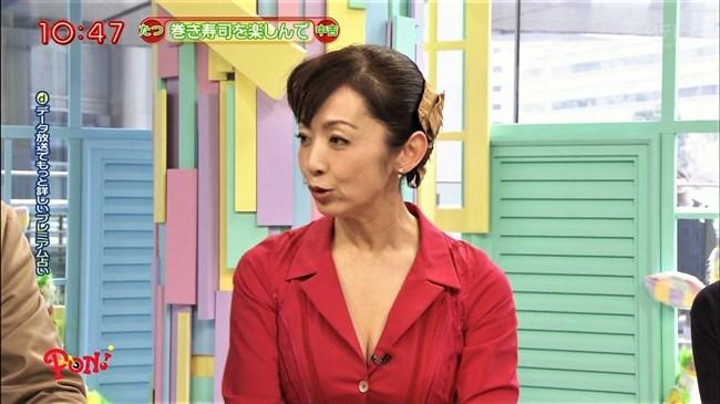 斉藤由貴~エッチな透け透け服に大胆な谷間チラ、ムッチリ水着のお弁当!0010shikogin